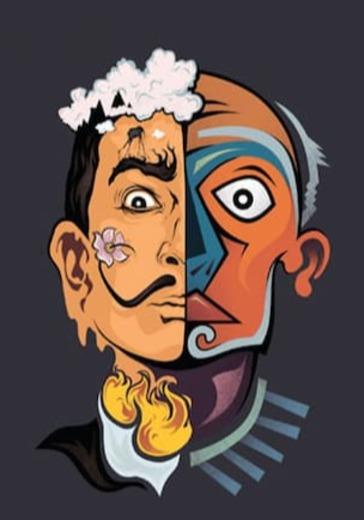 Сальвадор Дали и Пабло Пикассо logo