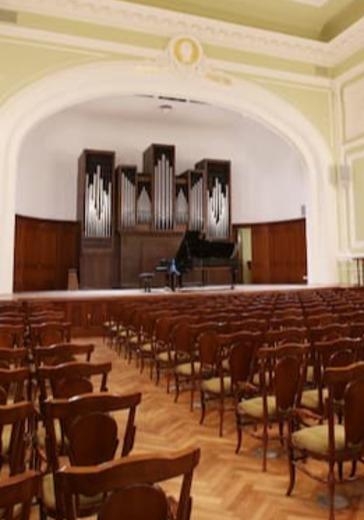 Творческая молодёжь Московской консерватории. Мария Зайчикова logo