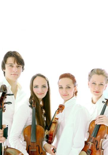 Квартеты Бетховена. Rusquartet logo
