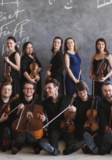Государственный академический камерный оркестр России. Жан-Кристоф Спинози logo