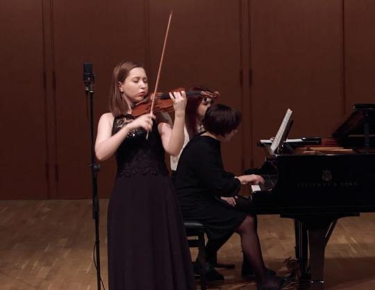 Творческая молодёжь Московской консерватории. Наина Кобзарева, Агаша Григорьева