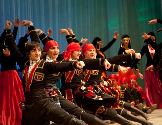 Хореографический ансамбль народного танца «Иверия»