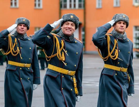 Оркестр 154-го отдельного комендантского Преображенского полка