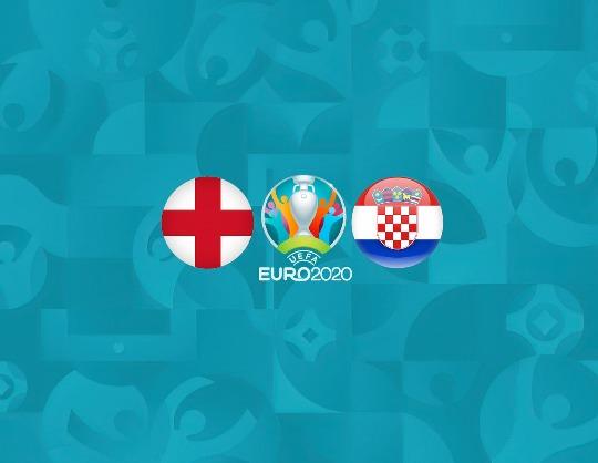 Англия - Хорватия, Евро-2020, Группа D