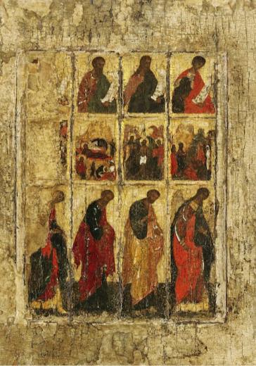 Музыка фресок и икон Феофана Грека и Андрея Рублёва logo