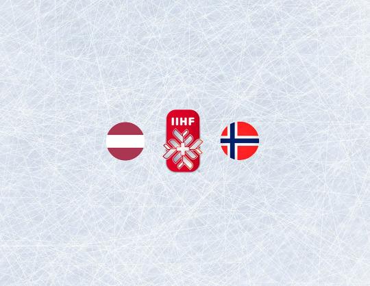 Чемпионат мира по хоккею 2021:Латвия - Норвегия