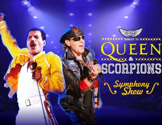 The Queen and Scorpions Symphony Show с симфоническим оркестром