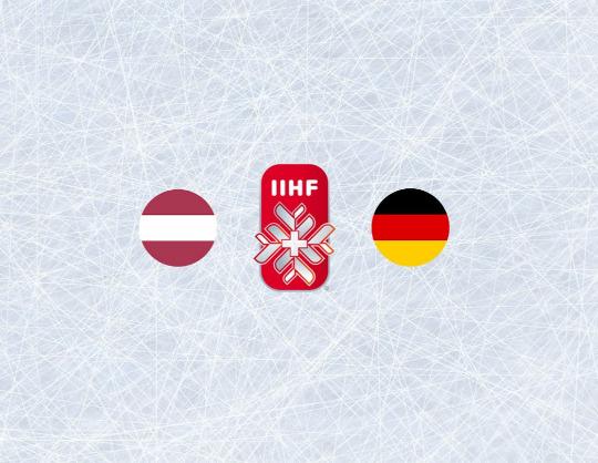 Чемпионат мира по хоккею 2021:Латвия - Германия