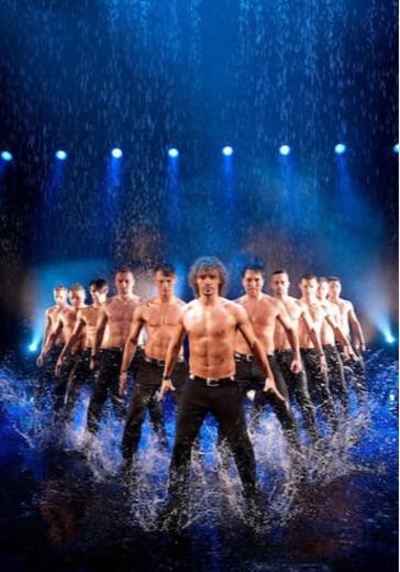 """Шоу под дождем """"Мужчина vs женщина"""" logo"""