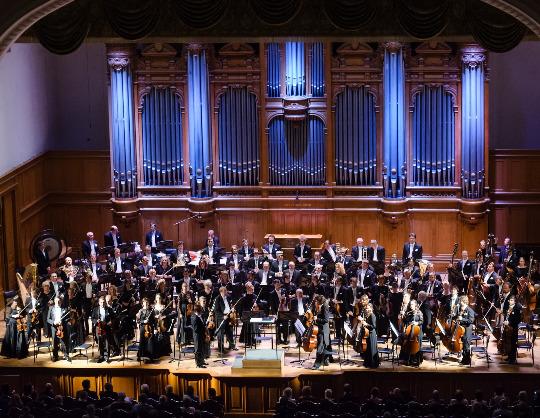 Оркестр Московской филармонии, Юрий Симонов, Сергей Догадин