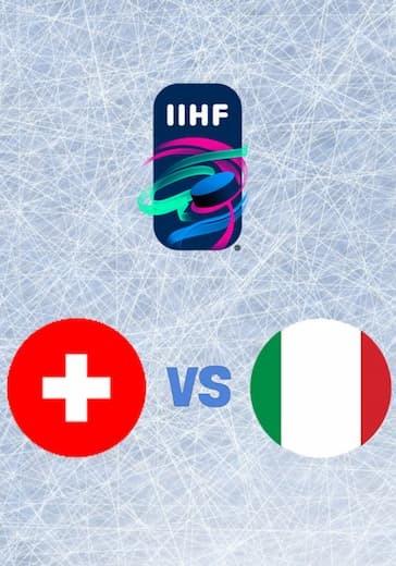 Чемпионат мира по хоккею. Швейцария - Италия logo