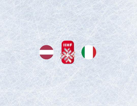 Чемпионат мира по хоккею 2021:Латвия - Италия