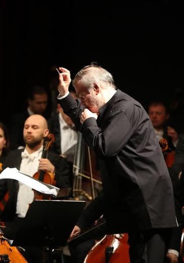 Симфонический оркестр Мариинского театра, Валерий Гергиев, Денис Мацуев, Павел Милюков  logo
