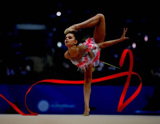 Состав сборной России по художественной гимнастике