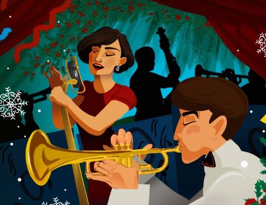 Рождественский вечер с Большим джазовым оркестром