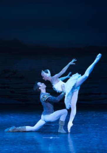 Лебединое озеро. Государственный академический театр классического балета Н. Касаткиной и В. Василёва logo