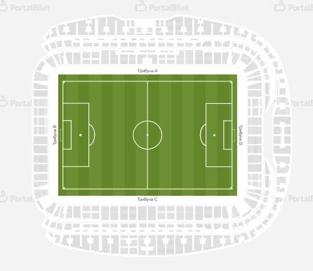 VTB ARENA scheme of arenas