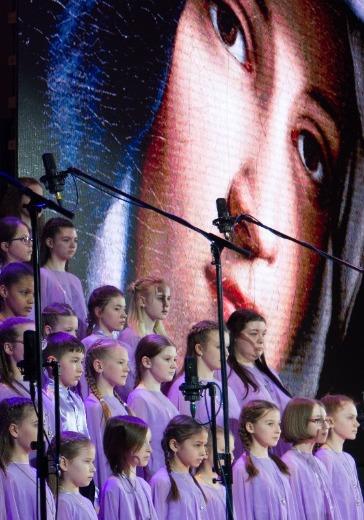 Фестиваль хоров воскресных школ logo