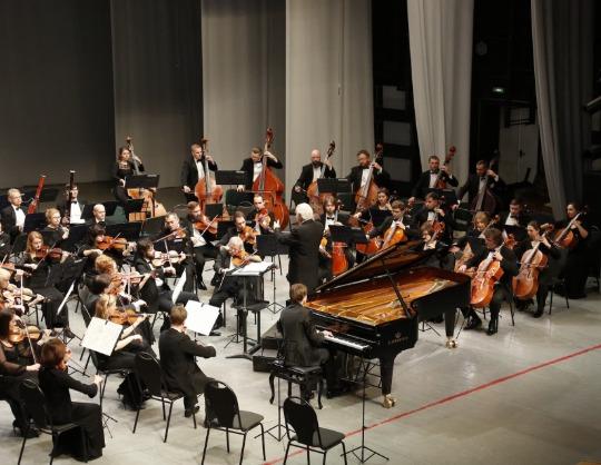 Заслуженный коллектив России академический симфонический оркестр филармонии Н. Алексеев