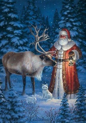 Северная сказка Дедушки Мороза logo