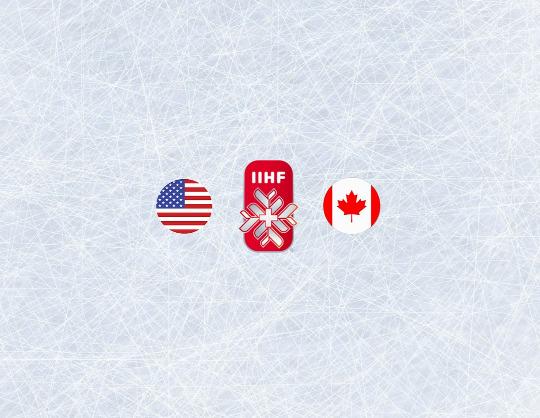 Чемпионат мира по хоккею 2021: США - Канада