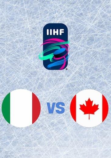 Чемпионат мира по хоккею. Италия - Канада logo