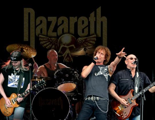 """NAZARETH  """"THE BIG EUROPEAN TOUR"""""""