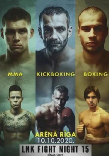 LNK Fight Night vol.15 profesionālās cīņas MMA logo