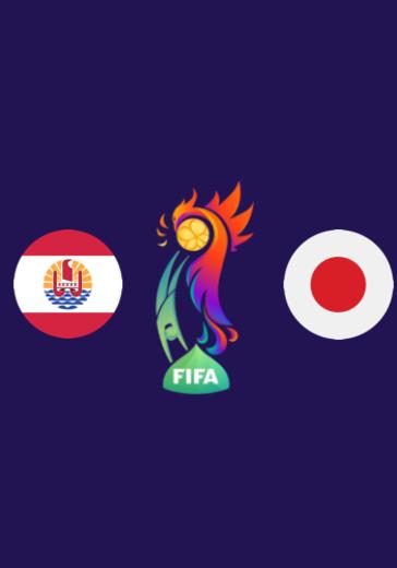 ЧМ по пляжному футболу FIFA. 1/4 финала, Таити - Япония logo