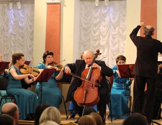 Русская музыка для струнных и фортепиано