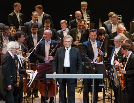 Большой симфонический оркестр имени П. И. Чайковского, Владимир Федосеев, Павел Милюков