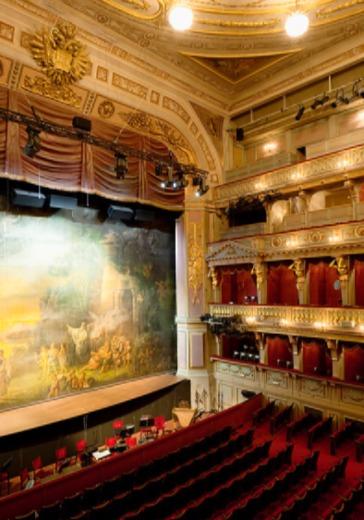 Музыка в пространстве театра logo