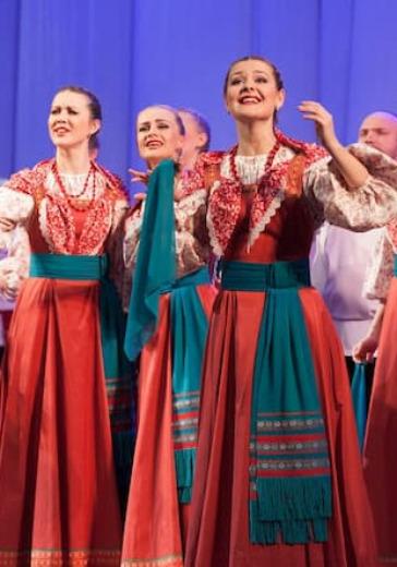 Государственный академический русский народный хор имени М. Е.Пятницкого logo