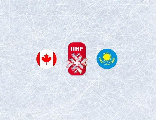 Чемпионат мира по хоккею 2021: Канада - Казахстан