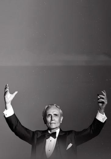 """Хосе Каррерас. Симфонический оркестр Москвы """"Русская филармония"""" logo"""