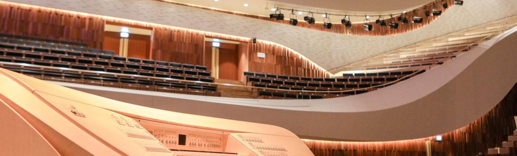 Российский национальный оркестр, дирижер – В. Урюпин, солист – И. Почекин