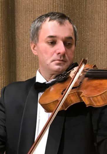 Русская музыка для струнных и фортепиано logo