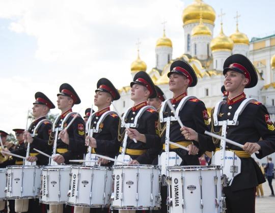 Оркестр суворовцев Московского военно-музыкального училища
