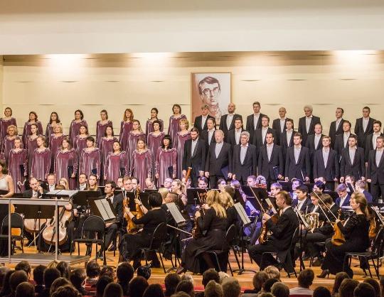 Хор и Симфонический оркестр капеллы Г.Свиридов Поэма памяти С.Есенина