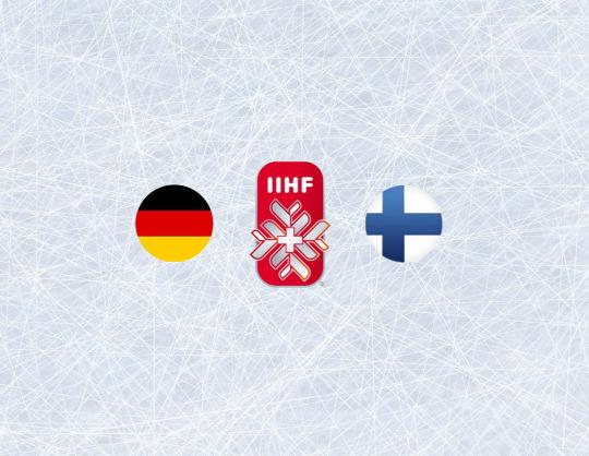 Чемпионат мира по хоккею 2021: Германия - Финляндия