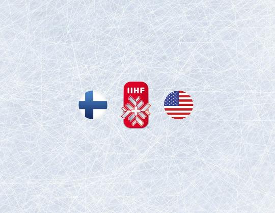 Чемпионат мира по хоккею 2021: Финляндия - США