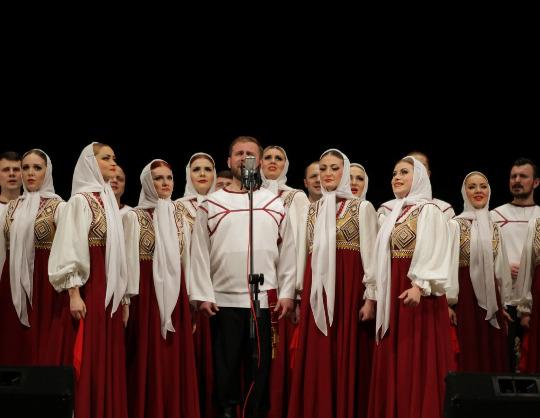 Русский народный хор имени М.Е. Пятницкого. Юбилейный концерт