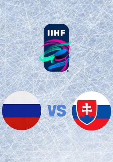 Чемпионат мира по хоккею. Россия - Словакия logo