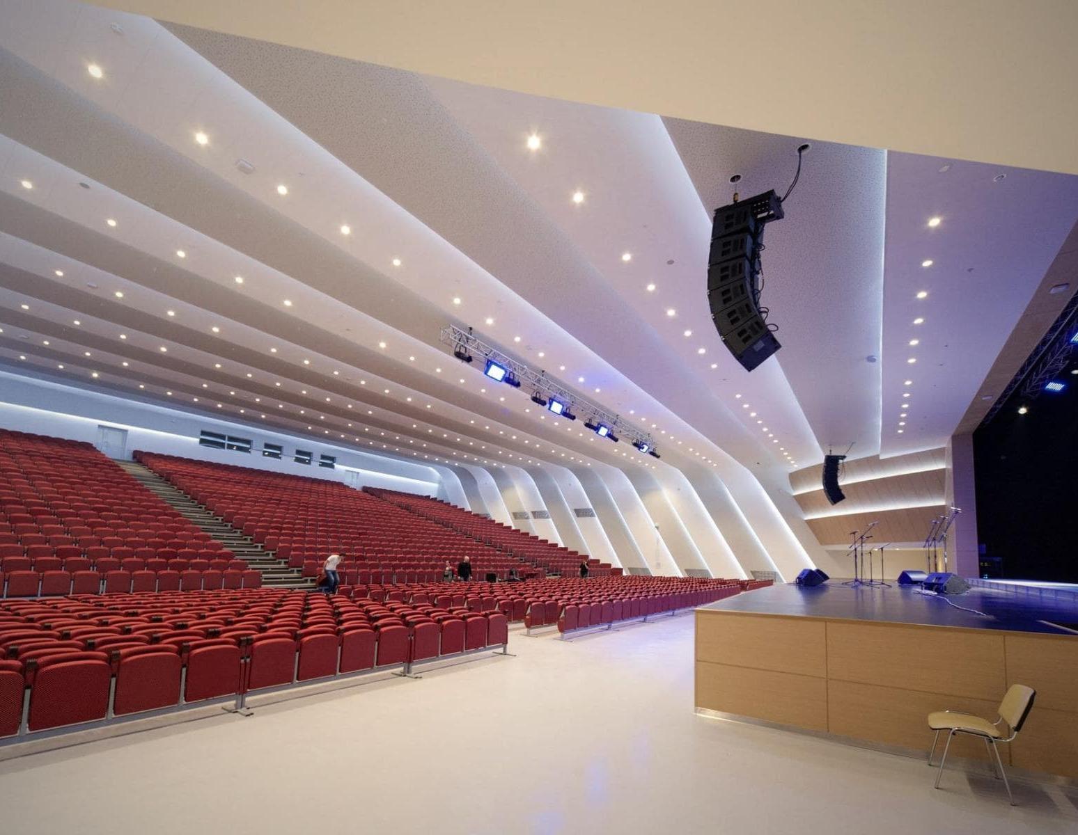 Концертный зал Гранд Холл Сибирь