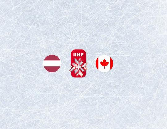 Чемпионат мира по хоккею 2021:Латвия - Канада
