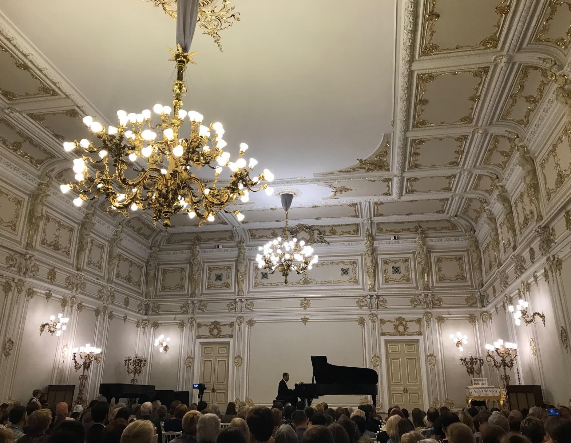 Малый зал филармонии им. Д.Д.Шостаковича
