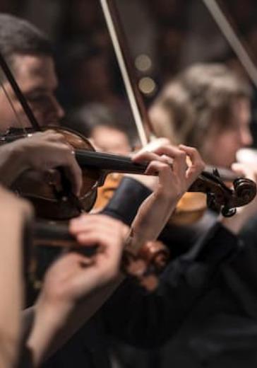Академический симфонический оркестр филармонии, дирижер А. Лазарев. Солист - Никита Борисоглебский logo