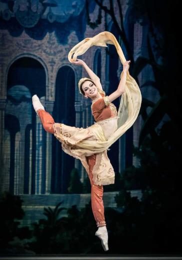 """IX Фестиваль балета в Кремле. Баядерка. Л. Минкус. Спектакль театра """"Кремлёвский балет"""" logo"""