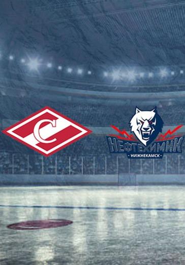 ХК Спартак - ХК Нефтехимик logo