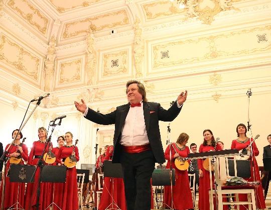 Концерт Государственного Русского концертного оркестра Санкт-Петербурга. Солист Александр Пахмутов